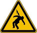 Elektrische Spannung kann überschlagen