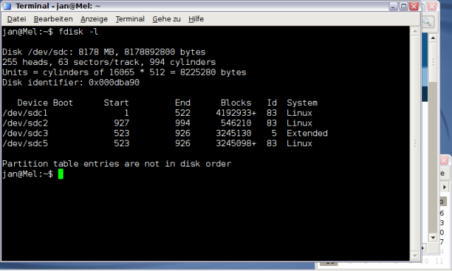 Die interne USB-SolidStateDisk - an für sich eine gute Idee…