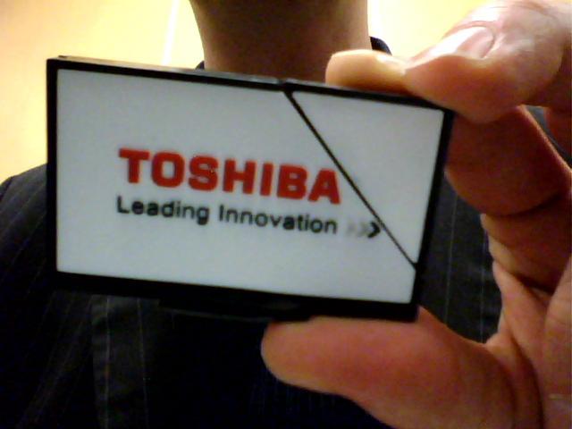 Der USB-Stick ist ein Fernseher aus Gummi, kein Radierer.