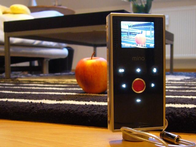 Die mit dem Knopf: Ultraleichtcamcorder Flip Mino