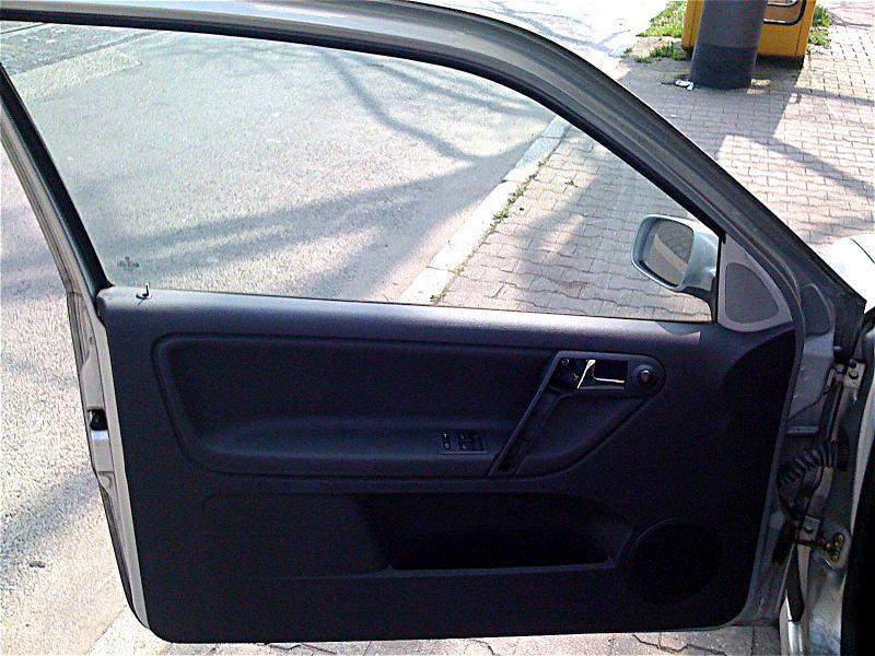 Die Tür eines Polo III (6N2)