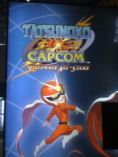 Der Joystick-Simulator war leider schon weg, als ich ihn bei Capcom fotografieren wollte