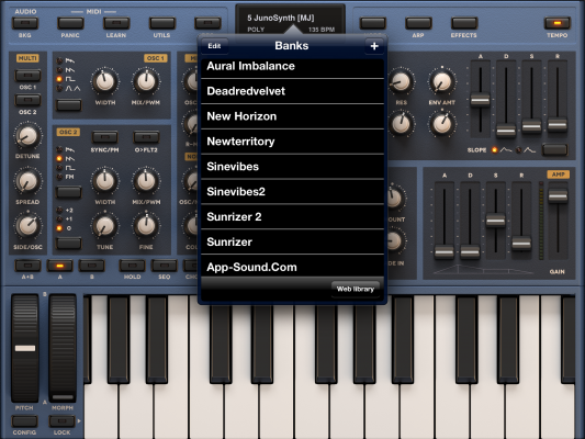 Sunrizer Synth, June 2013 update