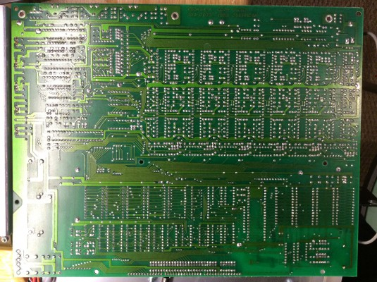 I guess you've never seen this before - a Matrix-1000 main board from below.
