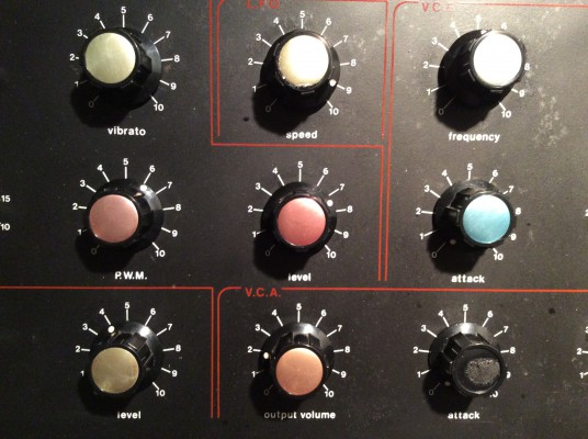 Jen SX-1000 oscillator/mixer section