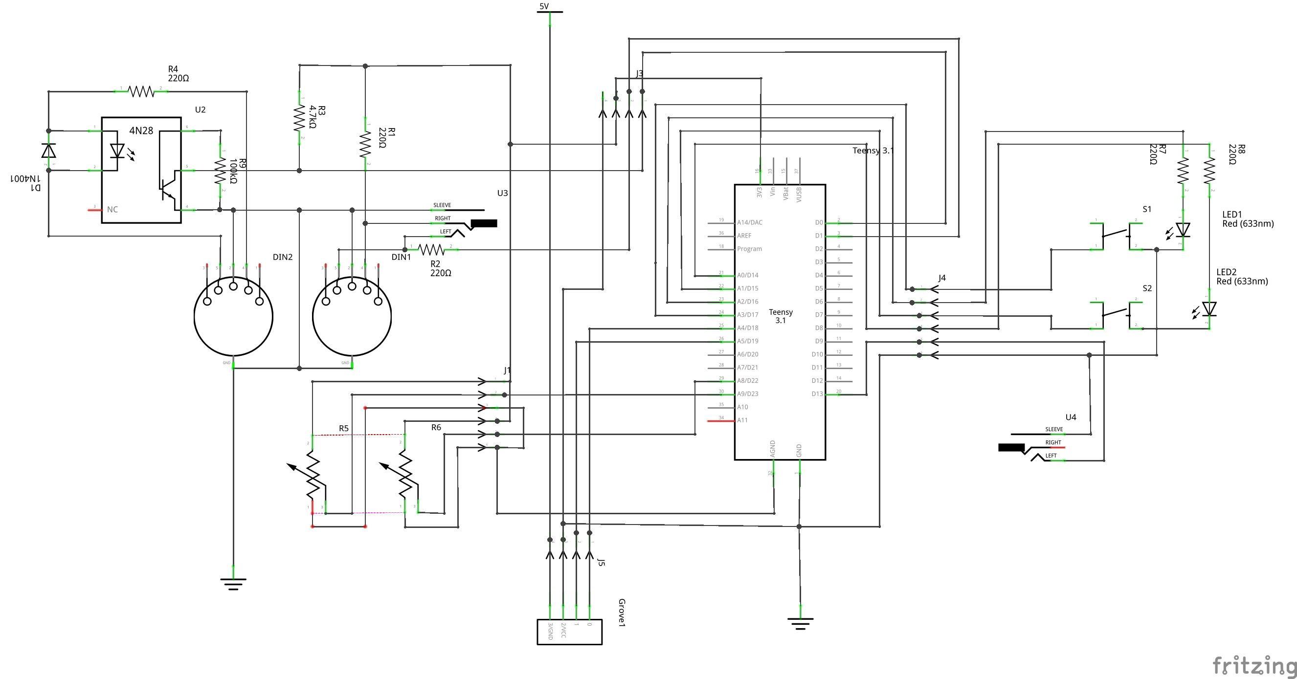 V2.0: A Teensy-based MIDI Controller - untergeekuntergeek