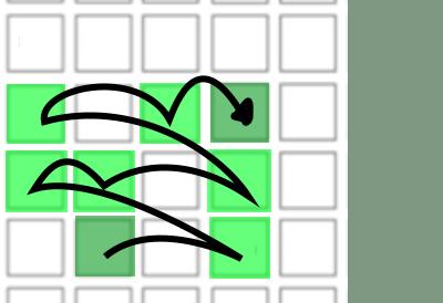 Launchpad Major scale, alternative keying